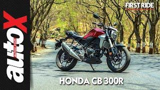 Honda CB 300R First Ride Video Review