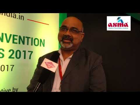 Prof. Manoj Pandey – Chairperson of Admissions, BIMTECH at ASMA Annual Convention 2017