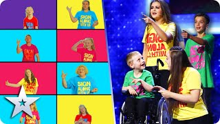 GOLDEN BUZZER act Sign Along With Us bring pure JOY to the BGT stage! | Semi-Finals | BGT 2020
