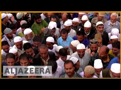 Kashmir killings during anti-India protests during Eid | Al Jazeera English