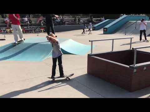 11 year old Johnny hill's 2019 skateboarding clips