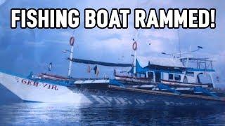 "Duterte ""Responds"" as China Rams Filipino Boat | China Uncensored thumbnail"