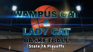 Lady Cats State 7A Playoffs Game 1