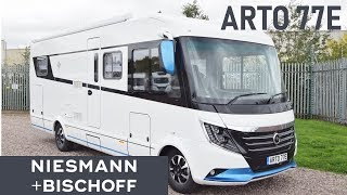 Motorhome Niesmann+Bischoff ARTO 77E. 2019. Review.