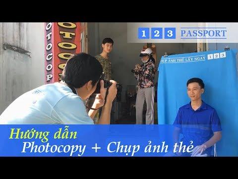 Mở tiệm photocopy + chụp ảnh thẻ với 123 Passport