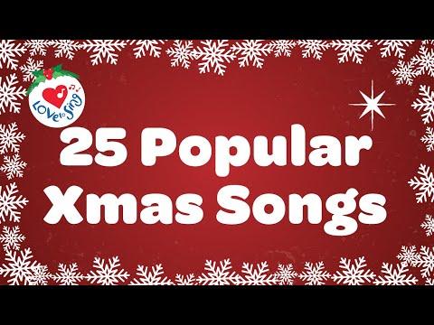 Kids Christmas Songs Playlist With Lyrics 2018   25 Popular Christmas Songs and Carols