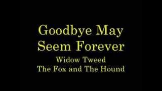 Goodbye May Seem Forever lyrics