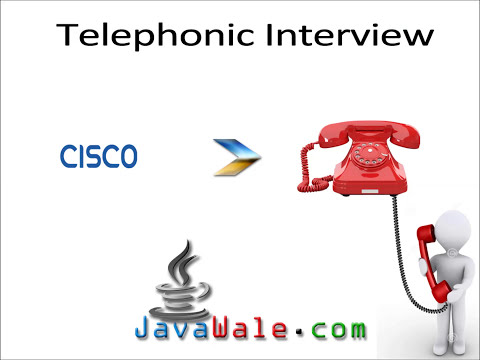Telephonic Interview for Java Developer - 2
