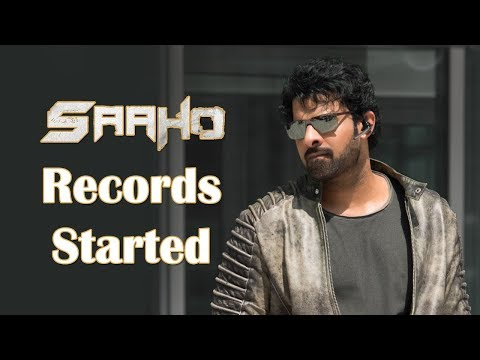 saaho-records-started