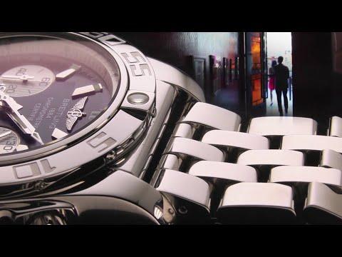 Super Factories: Breitling – 9 Watch Bracelet