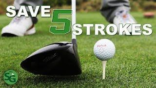 How To Drop 5 Shots off your Golf Game | The Best Tips for Lower Scores | Mr. Short Game