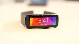 Samsung Gear Fit Hands-On (Deutsch) | SwagTab