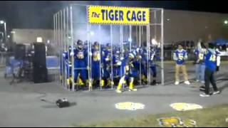 The Tigers war chant high school football team
