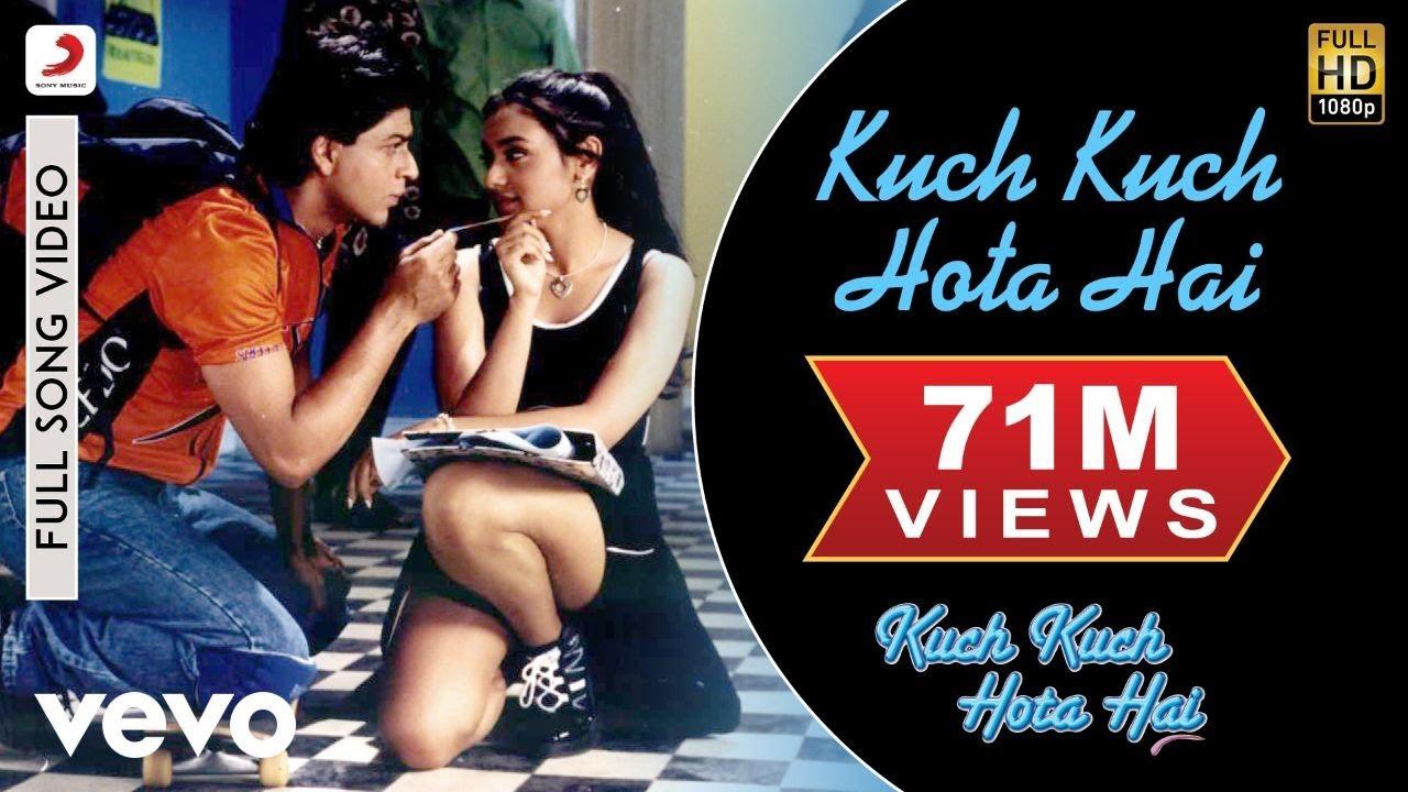 Kuch Kuch Hota Hai Full - Title Track|Shahrukh Khan,Kajol,Rani Mukerji|Alka Yagnik - Udit Narayan & Alka Yagnik Lyrics in hindi