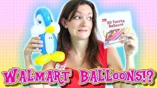Twisting with Walmart Balloons?!