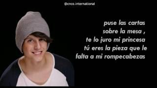 Cnco - No Entiendo |Lyrics/ Letra + Pictures| HD
