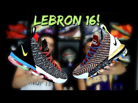 Nike LeBron 16 'WHAT THE' '1 THRU 5' Review!