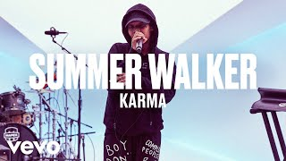 "Summer Walker   ""Karma"" (Live) | Vevo DSCVR"