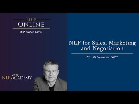 NLP Business Development Programme, Sales, Marketing and Negotiation.