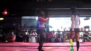 NWA FUW SON OF A BEACH LA ROSA NEGRA VS MIA YIM