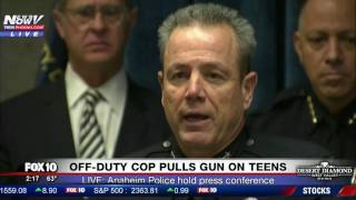 PRESS CONFERENCE: Anaheim Police & Mayor Respond to Viral Video of Off-Duty Cop Pulling Gun on Teens