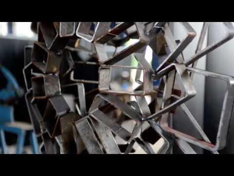KASZ +, X. Kecskeméti Acélszobrászati Szimpózium, 2013 Kész.: Bakó Súdió