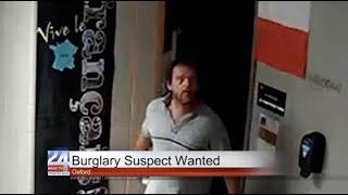 Oxford Burglary Suspect Wanted