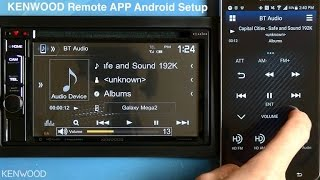 KENWOOD Remote App Setup For Android On 2017 Multimedia Receivers (DDX394, DDX594, DDX794)