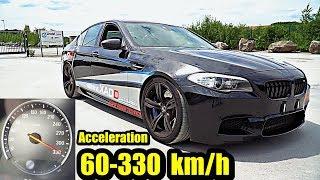 BMW M5 F10   900 HP   Acceleration   60 330 Kmh