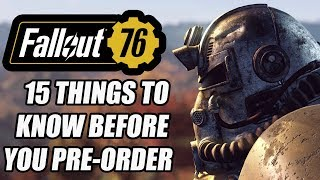 Fallout 76 - 15 NEW Things You Need To Know Before You Pre-Order
