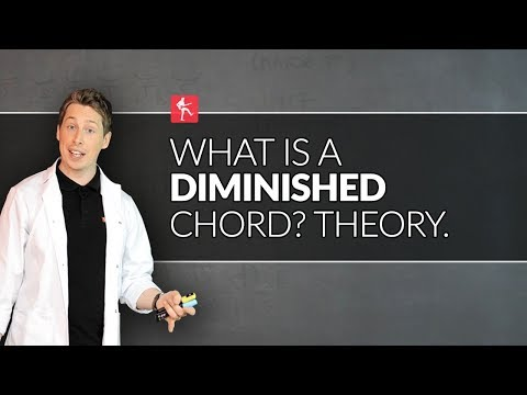 What Is A Diminished Chord? Guitar Theory Lesson