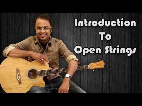 Introduction To Open Strings - Guitar Lesson For Beginners