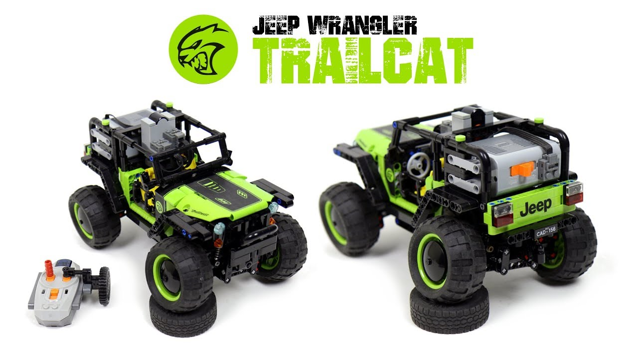 LEGO Ideas: 4x4 RC Jeep Wrangler Trailcat Project (Needs Your Votes!)