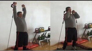Khabib Nurmagomedov father Abdulmanap training