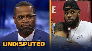 Stephen Jackson reacts to the Lakers over/under being set at 48.5 wins | NBA | UNDISPUTED