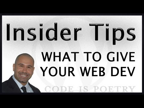 10 Things You Need To Give Your Web Designer For A Successful Launch