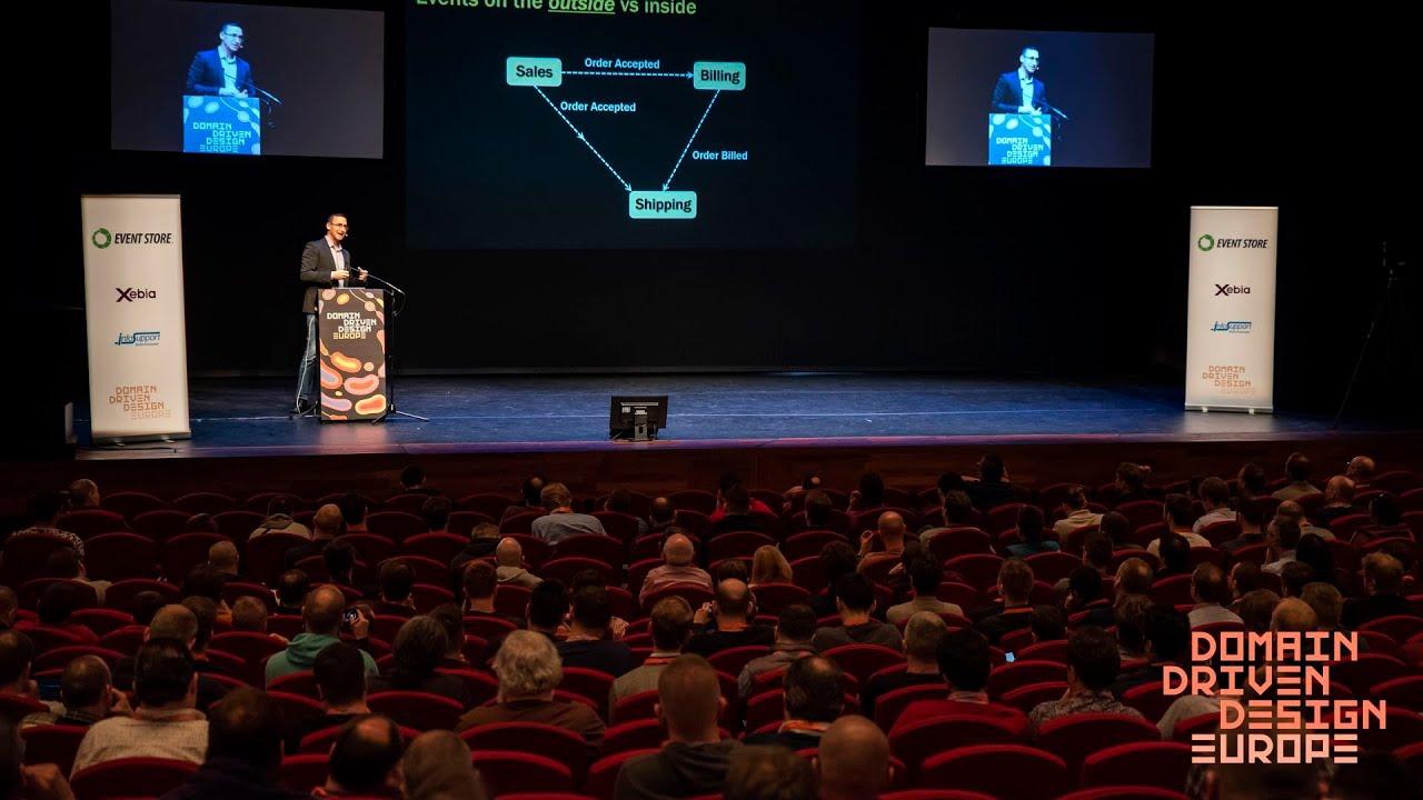 Keynote - Event Sourcing @ DDD Europe