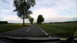 preview picture of video 'Pirat drogowy na K36 Ścinawa-Lubin za Turowem'
