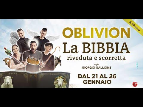 Teatro Manzoni / Video / Gli Oblivion Nel Loro Primo Musical Originale!