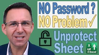 3 Ways To Unprotect Excel Sheets: Crack AND Restore Unknown Passwords