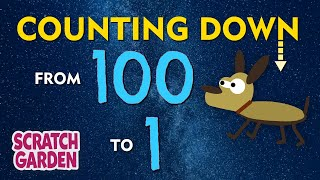 The Counting Down from 100 Song | Scratch Garden