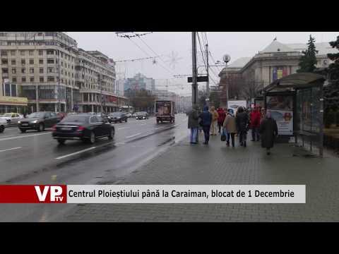 Centrul Ploieștiului până la Caraiman, blocat de 1 Decembrie