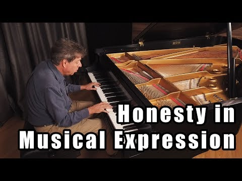 Honesty in Musical Expression
