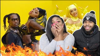 Offset   Clout Feat. Cardi B | REACTION!!!