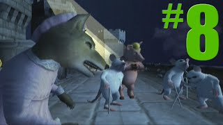 Shrek 2: Game Walkthrough Part 8 - Prison Break - No Commentary Gameplay (Gamecube/Xbox/PS2)