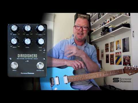 Seymour Duncan: DIAMONDHEAD Multistage Distortion & Boost