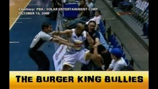 When Smart Gilas 1.0 Got Bullied By Coach Yeng's Burger King | Oct. 16, 2009