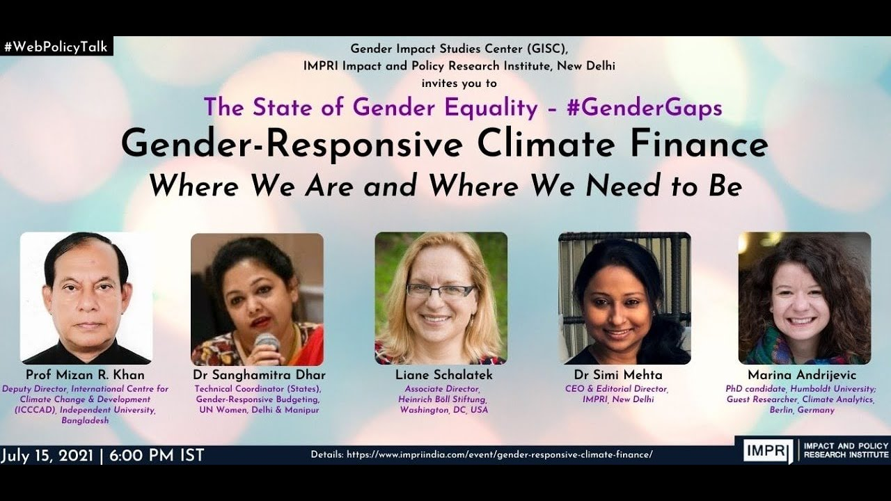 #GenderGaps|E38|Liane Schalatek|Gender-Responsive Environment Financing thumbnail