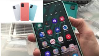 Samsung Galaxy A71 Silicone Cover im unboxing