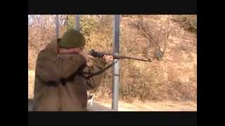Winchester 63  22 LR shooting